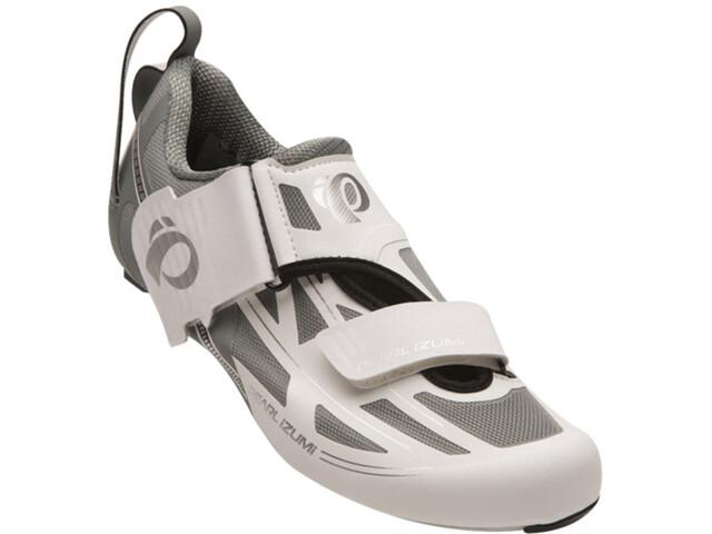 PEARL iZUMi Tri Fly Elite V6 kengät Naiset, white/silver